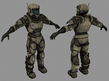 The General Defensive Armor Was Created As A Light Power Suit Third Category Where Neither MK II And MULPIS Fit Into